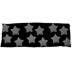 Silver Starr Black Body Pillow Case Dakimakura (two Sides)