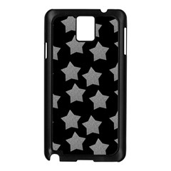 Silver Starr Black Samsung Galaxy Note 3 N9005 Case (black)
