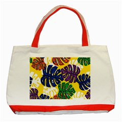 Design Decoration Decor Pattern Classic Tote Bag (red)