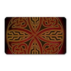 Beautiful Art Pattern Magnet (rectangular)