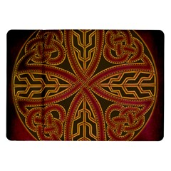 Beautiful Art Pattern Samsung Galaxy Tab 10 1  P7500 Flip Case by Nexatart