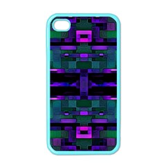 Abstract Pattern Desktop Wallpaper Apple Iphone 4 Case (color)