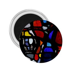 Art Bright Lead Glass Pattern 2 25  Magnets