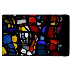 Art Bright Lead Glass Pattern Apple Ipad 2 Flip Case by Nexatart