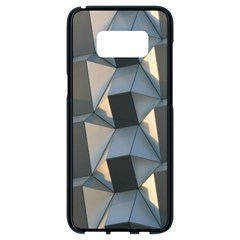 3d Pattern Texture Form Background Samsung Galaxy S8 Black Seamless Case