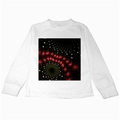 Background Texture Pattern Kids Long Sleeve T-shirts
