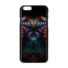 Background Texture Pattern Apple Iphone 6/6s Black Enamel Case by Nexatart