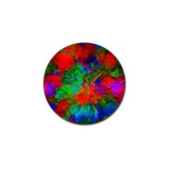 Color Art Bright Decoration Golf Ball Marker (4 Pack)