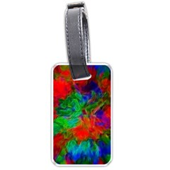 Color Art Bright Decoration Luggage Tags (two Sides)