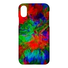 Color Art Bright Decoration Apple Iphone X Hardshell Case