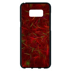 Abstract Pattern Color Shape Samsung Galaxy S8 Plus Black Seamless Case