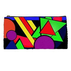 Background Color Art Pattern Form Pencil Cases