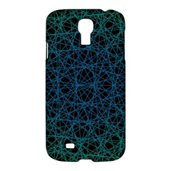Background Lines Pattern Line Art Samsung Galaxy S4 I9500/i9505 Hardshell Case