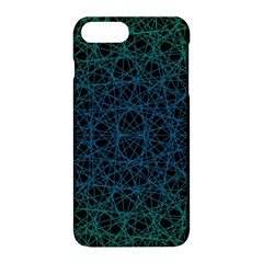 Background Lines Pattern Line Art Apple Iphone 8 Plus Hardshell Case