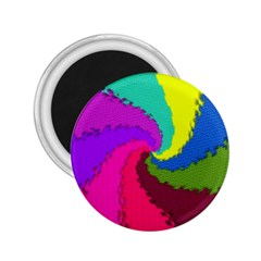 Art Abstract Pattern Color 2 25  Magnets
