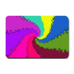 Art Abstract Pattern Color Small Doormat