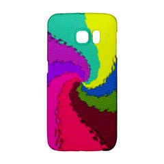Art Abstract Pattern Color Samsung Galaxy S6 Edge Hardshell Case