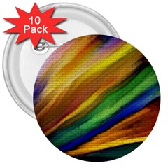 Graffiti Painting Pattern Abstract 3  Buttons (10 Pack)