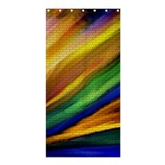 Graffiti Painting Pattern Abstract Shower Curtain 36  X 72  (stall)  by Nexatart