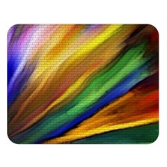 Graffiti Painting Pattern Abstract Double Sided Flano Blanket (large)