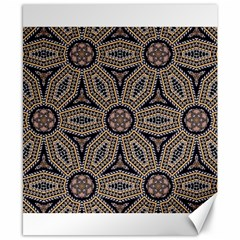 Pattern Decoration Abstract Canvas 8  X 10