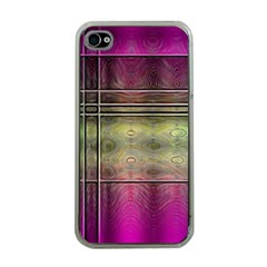 Abstract Desktop Pattern Wallpaper Apple Iphone 4 Case (clear)