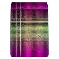 Abstract Desktop Pattern Wallpaper Removable Flap Cover (l)