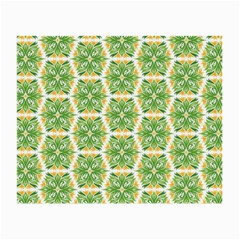 Pattern Abstract Decoration Flower Small Glasses Cloth