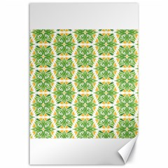 Pattern Abstract Decoration Flower Canvas 24  X 36