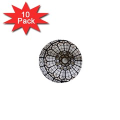 Pattern Abstract Structure Art 1  Mini Buttons (10 Pack)