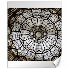 Pattern Abstract Structure Art Canvas 11  X 14