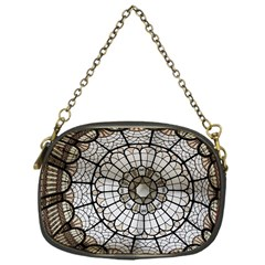 Pattern Abstract Structure Art Chain Purse (one Side)