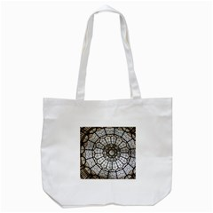 Pattern Abstract Structure Art Tote Bag (white)