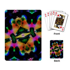 Butterfly Color Pop Art Playing Cards Single Design