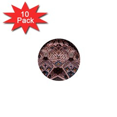 Pattern Decoration Art Architecture 1  Mini Buttons (10 Pack)