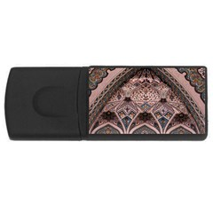 Pattern Decoration Art Architecture Rectangular Usb Flash Drive