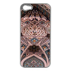 Pattern Decoration Art Architecture Apple Iphone 5 Case (silver)