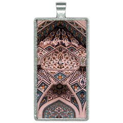 Pattern Decoration Art Architecture Rectangle Necklace