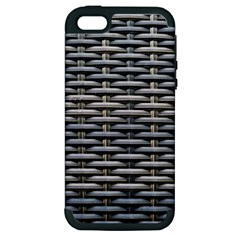 Desktop Pattern Abstract Fabric Apple Iphone 5 Hardshell Case (pc+silicone)
