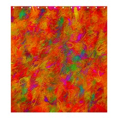 Abstract Pattern Art Canvas Shower Curtain 66  X 72  (large)