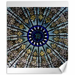 Pattern Art Form Architecture Canvas 20  X 24  by Nexatart