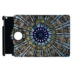 Pattern Art Form Architecture Apple Ipad 3/4 Flip 360 Case