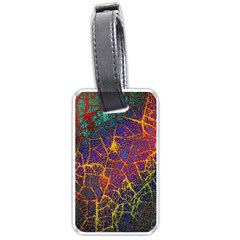 Background Desktop Pattern Abstract Luggage Tags (one Side)  by Nexatart