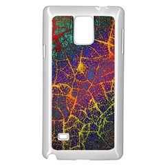 Background Desktop Pattern Abstract Samsung Galaxy Note 4 Case (white)