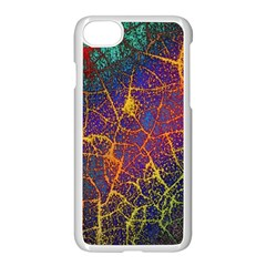Background Desktop Pattern Abstract Apple Iphone 7 Seamless Case (white) by Nexatart