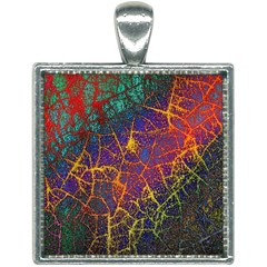 Background Desktop Pattern Abstract Square Necklace