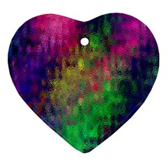 Background Abstract Art Color Ornament (heart)