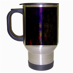 Background Abstract Art Color Travel Mug (silver Gray)