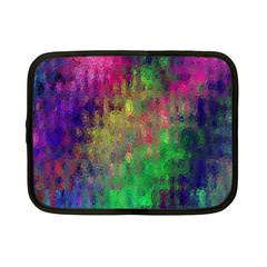 Background Abstract Art Color Netbook Case (small) by Nexatart