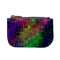 Background Abstract Art Color Mini Coin Purse by Nexatart